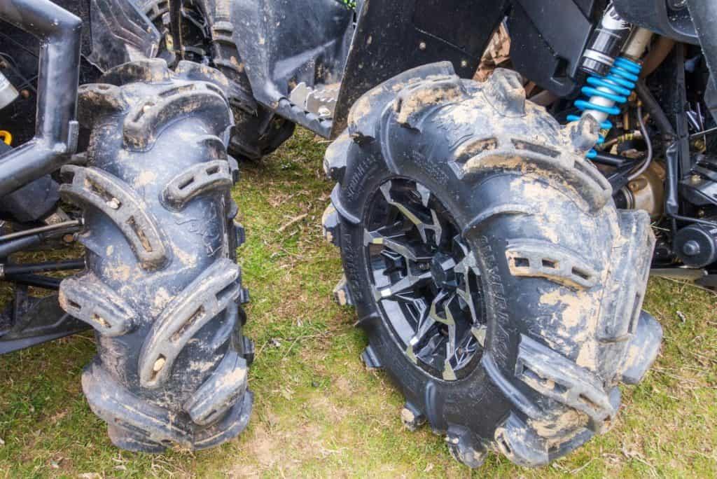 ATV Wheels close up